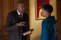 Forest Whitaker as Reverend Cornell Cobbs and Jacob Latimore as Langston in