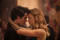 Dominic Sherwood and Lucy Fry in
