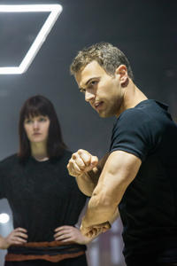 Theo James and Amy Newbold in