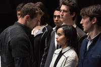 Theo James, Zoe Kravitz, Miles Teller and Ben Lloyd-Hughes in