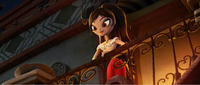 Maria voiced by Zoe Saldana in