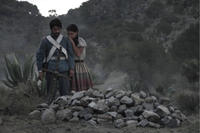 Christian Vazquez as Juan Osorno and Liz Gallardo as Citali in