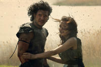 Kit Harington as Milo and Emily Browning as Cassia in