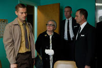 James Badge Dale as Robert Oswald and Jacki Weaver as Marguerite Oswald in