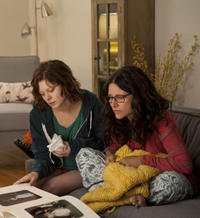 Tracey Fairaway as Ellen and Julia Louis-Dreyfus as Eva in