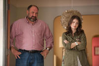 James Gandolfini as Albert and Eve Hewson as Tess in