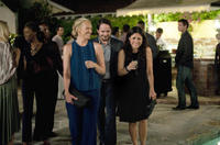 Toni Collette as Sarah, Ben Falcone as Will and Julia Louis-Dreyfus as Eva in