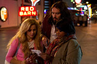 Julianne Hough, Russell Brand and Octavia L. Spencer in