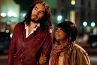 Russell Brand and Octavia L. Spencer in