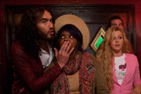 Russell Brand, Octavia L. Spencer and Julianne Hough in
