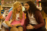 Russell Brand and Julianne Hough in