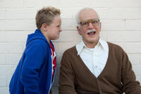 Jackson Nicoll as Billy and Johnny Knoxville as Irving Zisman in