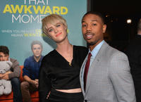Mackenzie Davis and Michael B. Jordan at the California premiere of