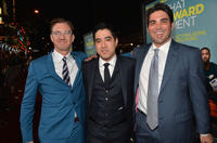 Producers Scott Aversano, Justin Nappi and Kevin Turen at the California premiere of