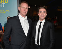 Peter Schlessel and Zac Efron at the California premiere of