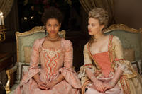 Gugu Mbatha-Raw as Dido Elizabeth Belle and Sarah Gadon as Elizabeth Murray in