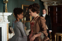 Gugu Mbatha-Raw as Dido Elizabeth Belle and Emily Watson as Lady Mansfield in