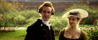 Tom Felton as James Ashford and Sarah Gadon as Elizabeth Murray in
