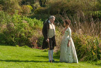 Tom Wilkinson as Lord Mansfield and Gugu Mbatha-Raw as Dido Elizabeth Belle in