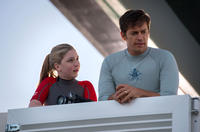 Cozi Zuehlsdorff as Hazel Haskett and Harry Connick Jr. as Dr. Clay Haskett in