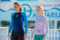 Austin Highsmith as Phoebe and Cozi Zuehlsdorff as Hazel Haskett in