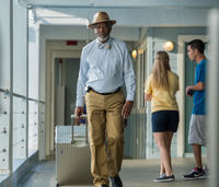 Morgan Freeman as Dr. Cameron Mccarthy in