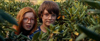 Annalise Basso and Chandler Canterbury in