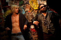 Johnny Galecki and Taylor Hawkins in