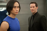 Tiger Chen and Keanu Reeves in