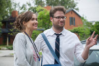 Rose Byrne and Seth Rogen in