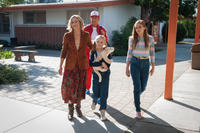 Maria Bello, Kevin Costner, Elsie Fisher and Morgan Saylor in
