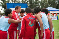 Rafael Martinez as David Diaz, Kevin Costner as Jim White, Carlos Pratts as Thomas Valles, Sergio Avelar as Victor Puentes, Ramiro Rodriguez as Danny Diaz, John Ortiz as Jose Cardenas and Hector Duran as Johnny Sameniego in