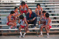 Hector Duran as Johnny Sameniego, Sergio Avelar as Victor Puentes, Michael Aguero as Damacio Diaz, Ramiro Rodriguez as Danny Diaz, Kevin Costner as Jim White, John Ortiz as Jose Cardenas, Carlos Pratts as Thomas Valles and Rafael Martinez as David Diaz in