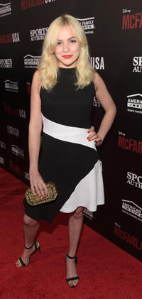 Morgan Saylor at the California premiere of