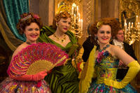 Holliday Grainger, Cate Blanchett and Sophie McShera in