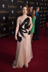 Holliday Grainger at the California premiere of