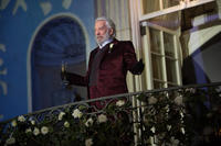 """Donald Sutherland as President Snow in """"The Hunger Games: Catching Fire."""""""