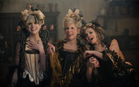 Lucy Punch as Lucinda, Christine Baranski as Cinderella's Stepmother and Tammy Blanchard as Florinda in