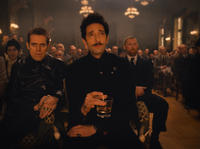 Willem Dafoe as Jopling and Adrien Brody as Dmitri in