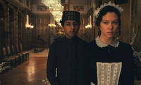 Tony Revolori as Zero and Lea Seydoux as Clotilde in