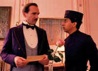 Ralph Fiennes as M. Gustave and Tony Revolori as Zero in