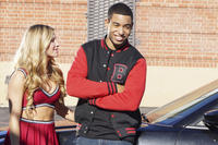 ") Brooke Butler as Tracy Bingham and Tom Williamson as Terry Stankus in the horror comedy ""ALL CHEERLEADERS DIE"
