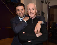 Oscar Isaac and Anthony Daniels at the California premiere of