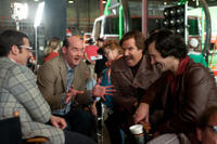 Steve Carell, David Koechner, Will Ferrell and Paul Rudd in