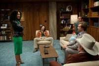 Meagan Good, Paul Rudd, Steve Carell, Will Ferrell and David Koechner in