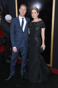 Martyn LeNoble and Christina Applegate at the New York premiere of