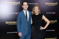 Paul Rudd and Julie Yaeger at the New York premiere of