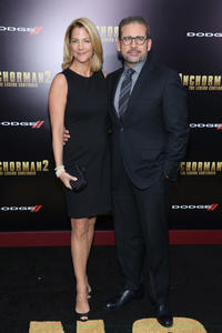 Steve Carell and Nancy Carell at the New York premiere of