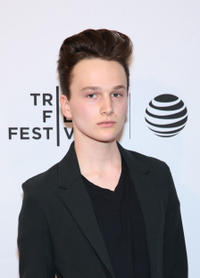 Cristian Miller at the New York premiere of