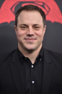 Geoff Johns at the New York premiere of